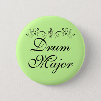 Pretty Drum Major Marching Band Gift 2 Inch Round Button