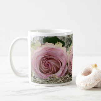 Pretty Dusty Pink Roses Coffee Mug