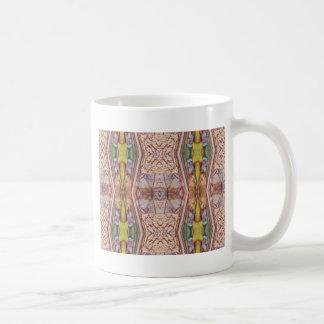 Pretty Dusty Rose Artistic Pattern Coffee Mug