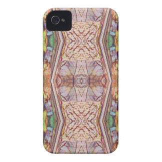 Pretty Dusty Rose Artistic Pattern iPhone 4 Cases