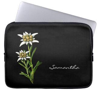 Pretty Edelewiss Laptop Case