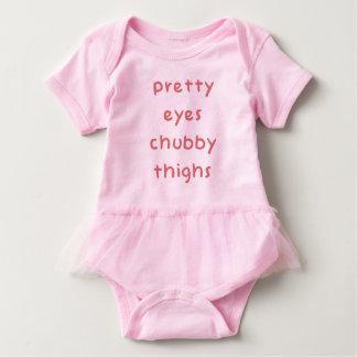 Pretty Eyes Chubby Thighs Baby Bodysuit