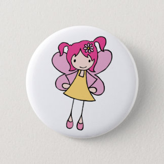 Pretty Fairy 2 Inch Round Button