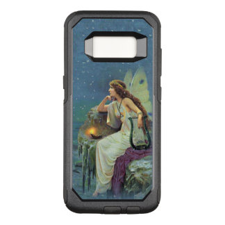 Pretty Fairy on cliff Lit Candle musical Harp OtterBox Commuter Samsung Galaxy S8 Case