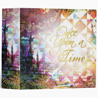 Pretty Fairytale Once Upon a Time Binders