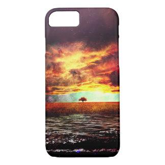 Pretty Fantasy Ocean Sunset Landscape iPhone 7 Case