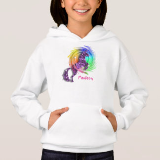 Pretty Fantasy Rainbow Unicorn Personalized