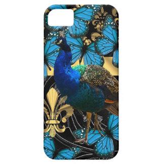 Pretty feminine peacock design case for the iPhone 5