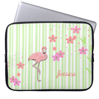 Pretty Flamingo Laptop Cover