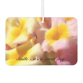 Pretty floral air freshener