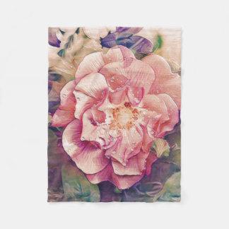 Pretty floral blanket
