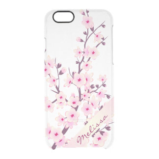 Pretty Floral Cherry Blossoms iPhone 6 Case