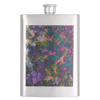 pretty floral flask-perfect for bridesmaids! flasks