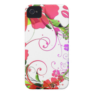Pretty Floral Frills iPhone 4 Case