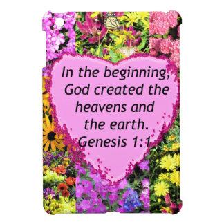 PRETTY FLORAL GENESIS 1:1 PHOTO DESIGN CASE FOR THE iPad MINI