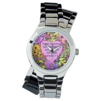 PRETTY FLORAL GENESIS 1:1 PHOTO DESIGN WATCH