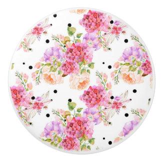 Pretty Floral Knob