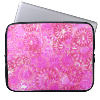 Pretty floral. laptop computer sleeve