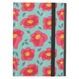 Pretty Floral Pattern With Bright Pink Petals Case For iPad Air