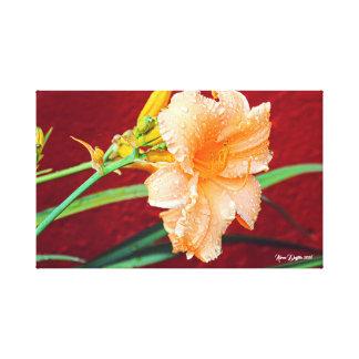 Pretty Flower Art Canvas Print