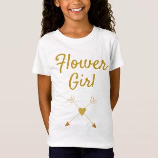 Pretty Flower Girl T-Shirt