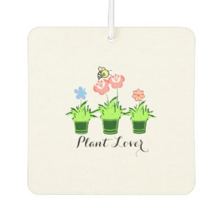 """Pretty Flower Plants"" Car Air Freshener. Air Freshener"