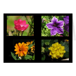 Pretty Flowers Collection Greeting Card