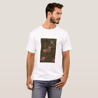 Pretty Flowers on a Mossy Bed T-Shirt