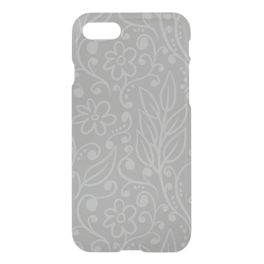 Pretty Flowers Pattern iPhone 7 Clear iPhone 8/7 Case