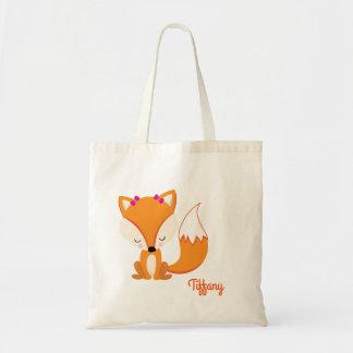Pretty Fox Customize Tote Bag