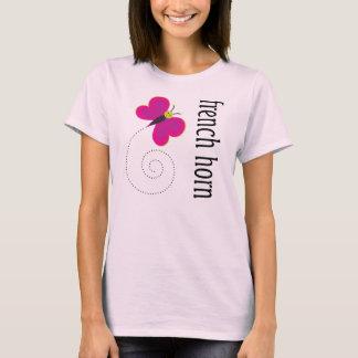 Pretty French Horn T-shirt