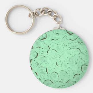 Pretty Frozen Drops on Glass Color Swap Basic Round Button Keychain