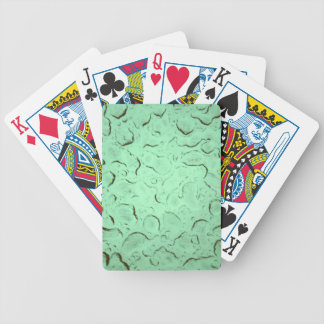 Pretty Frozen Drops on Glass Color Swap Bicycle Playing Cards