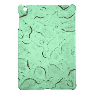 Pretty Frozen Drops on Glass Color Swap Case For The iPad Mini
