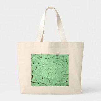 Pretty Frozen Drops on Glass Color Swap Large Tote Bag