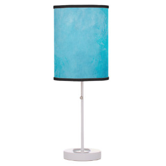 Pretty Frozen Water Background Table Lamp
