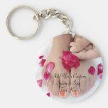 Pretty Fuchsia Pink Rose Pedicure Salon