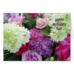 Pretty Garden Flower Bouquet Happy Mother's Day Greeting Card