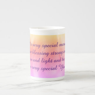 Pretty Get Well Poem Tea Cup