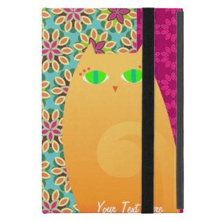 Pretty Ginger Kitty - Custom iPad Mini Powis Case iPad Mini Covers