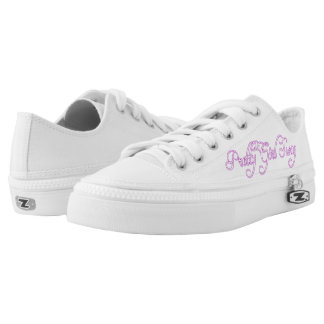 Pretty Girl Swag Low-Top Sneakers