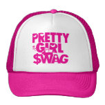 pretty girl swag! trucker hats