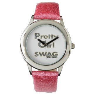 Pretty Girl Swag Watch