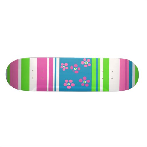 Pretty Girls Skateboard 1 by Hannah