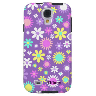 Pretty Girly Purple With Flowers Custom