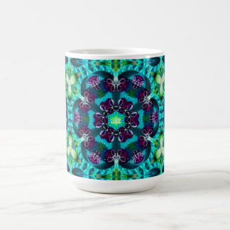 Pretty Glittery Pattern ~ Personalised Liz ~ Coffee Mug