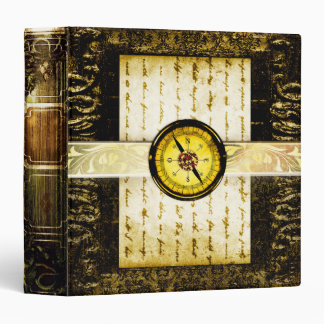Pretty Gold Ancient Tome Fantasy Scrapbook Binders