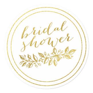 PRETTY GOLD | BRIDAL SHOWER INVITATION