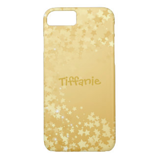 Pretty Gold Star Sprinkles iPhone 8/7 Case