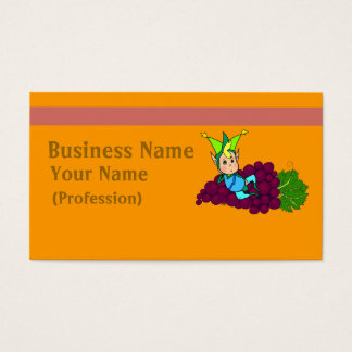 Pretty gordito genie business card